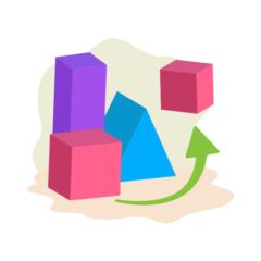 Match 3D Shapes