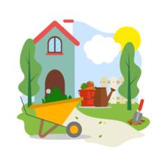 Bahçe Eşyalarını Öğren