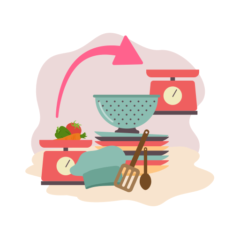Mutfak Eşyalarını Eşleştir