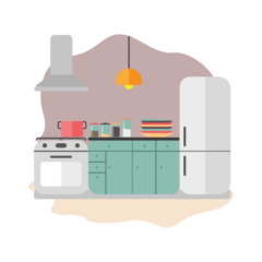 Learn Kitchen Items