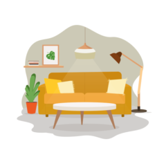 Learn Livingroom Items